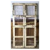 Cool set of antique possibly bank or jailhouse