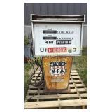 Vintage tokheim MFA gas pump