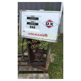 Vintage tokheim DX gas pump