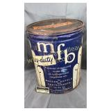 MFB heavy duty shortening can 50lbs