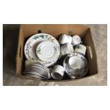 Box of wood hill dishes