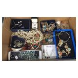 Box of quality costume jewelry-lia Sophia,