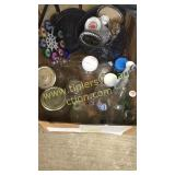 Box of jars/bottles/ misc