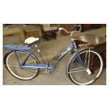 Antique JC Higgins bicycle abandoned from phase 1