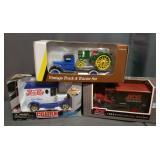 3 Vintage Car Banks