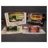 4 New In Box Toy Trucks