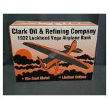 Clark Oil Airplane Bank