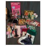 Huge Lot Of Barbie Memorabilia