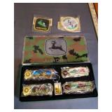 John Deere Collectors Knives and Plate