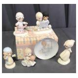Precious Moments Figurines With Boxes