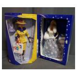 Summer Barbie and Snow Sensation Barbie