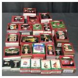 Large Lot of Hallmark Christmas Ornaments