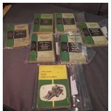 Large Lot Of John Deere Catalogs