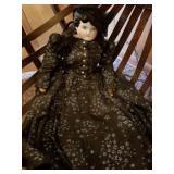 "Antique Porcelain Doll, Approx. 20"""