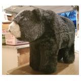 Joyce Ditz/Hen House Black Bear Ride On Plush
