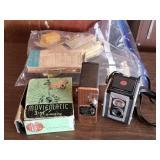 Kodak Duraflex II & Moviematic Cameras w/Extras