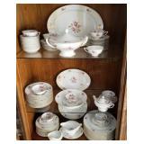 Royal Tettau Dinnerware Set, Rose Pattern