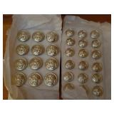 NOS Military Buttons marked Gaunt London