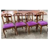 Set of 4 Antique Dining or Parlor Chairs