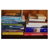 Large Group of Religion Books, Many Hardback