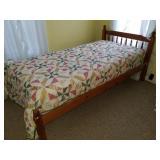 Twin Bed w/Beautyrest Recharge Pillowtop Mattress