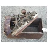 Rare Stanley #45 Combination Plane & Wood Crate