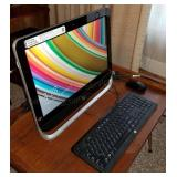 HP Pavilion 20 All-in-One PC w/Mouse & Keyboard