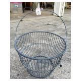Wire Egg Basket, Nice Shape