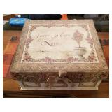 Faith, Hope & Love Card Box by Charlene Olson