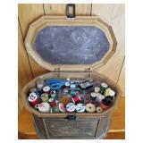 Lerner Sewing Box Full of Supplies