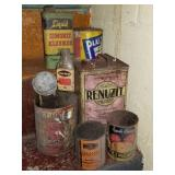 Crawl Space Find of Vintage Advertising Cans/Tins
