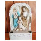 """16"""" Religious Statue/Candle Holder"""