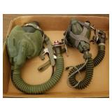 MS-22001 & Sierra 450-10 US Military Oxygen Masks