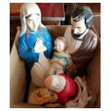 Vintage Injection Molded Plastic Yard Ornaments