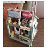 General Store Folk Art Birdhouse w/Coca-Cola