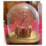 Vintage Kundo 400-Day Clock w/Oval Dome