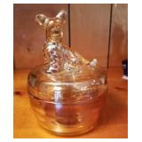 """5"""" Tall Figural Doggie Covered Dish"""