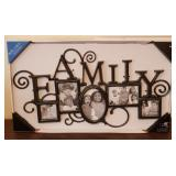 """Two Family Collage Photo Frames 29"""" x 16.5"""""""