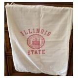 Vintage Illinois State University Drawstring Sack