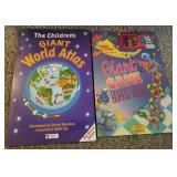 Giant Game Board Book & Childrens World Atlas