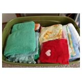 Tote Full of Nice Clean Dish Rags & Bath Towels, e