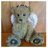 "10"" Composite Angel Teddy Bear Figure"