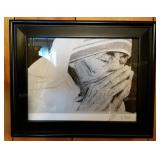 Mother Theresa Hand Signed & Numbered Print