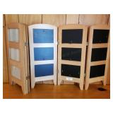 Two Table Divider Collage Photo Frames