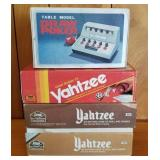 Boxed Yahtzee Sets, Draw Poker Table Game