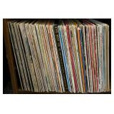 Large Group of 33RPM Record Albums