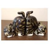 Ceramic Cat Bookends