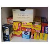Several Boxes of Aluminum Foil, Cling Wrap, etc.