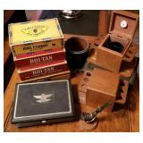 Cigar Boxes and Related Items