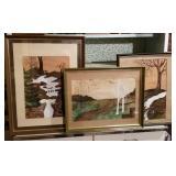 3 Signed Original Artworks - Rob Reitz